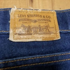 Vintage Levi Strauss Denim Jean no tag